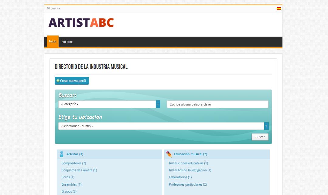 Artist ABC