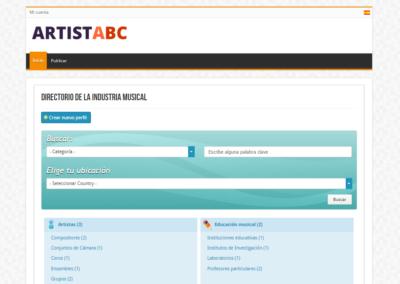 Artist ABC - http://artistabc.com